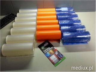 pasy do kurtyny paskowej kolorowe z okuciem PCV EasyClick Mediux
