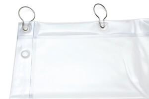 Kurtyna spawalnicza KIN-0 biała