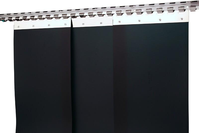 kurtyna spawalnicza czarna