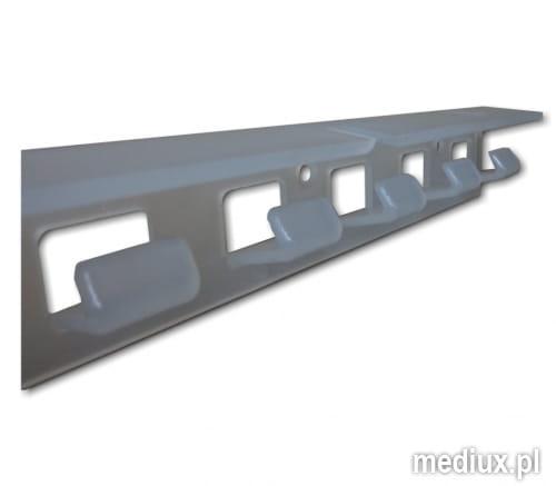 zawiesie grzebieniowe PCV EasyLine do kurtyny paskowej
