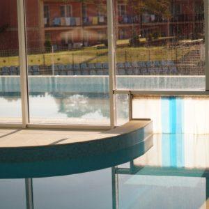 kurtyny pcv na basen, izolacja termiczna