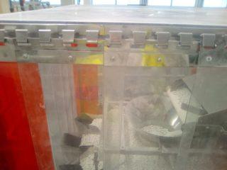 Kurtyna osłona maszyny sortującej