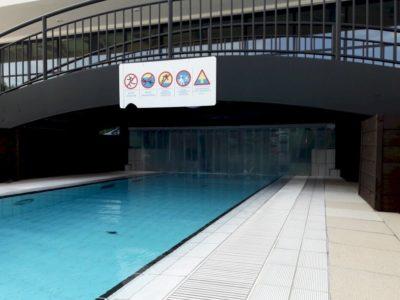 kurtyna pcv na basenie