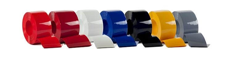 folia PCV nieprzejrzysta - kolory