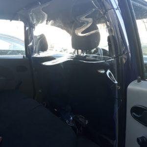 Przegroda do auta - osłona dla kierowcy TAXI